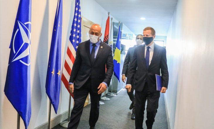 Haradinaj takon shefin e zyrës së BE'së – flasin për rimëkëmbjes ekonomike