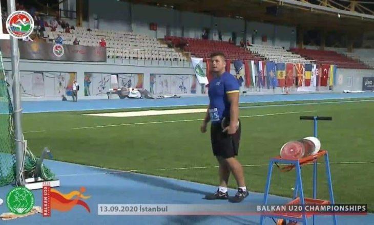 Suma fiton medaljen e bronztë në Kampionatin Ballkanik për U-20