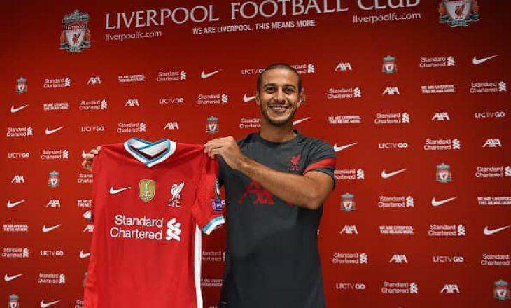 ZYRTARE: Thiago Alcantara lojtar i Liverpool
