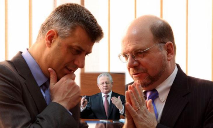 Dell: Hyseni intervenoi te unë për ta bindur Thaçin që mos të prishet koalicioni