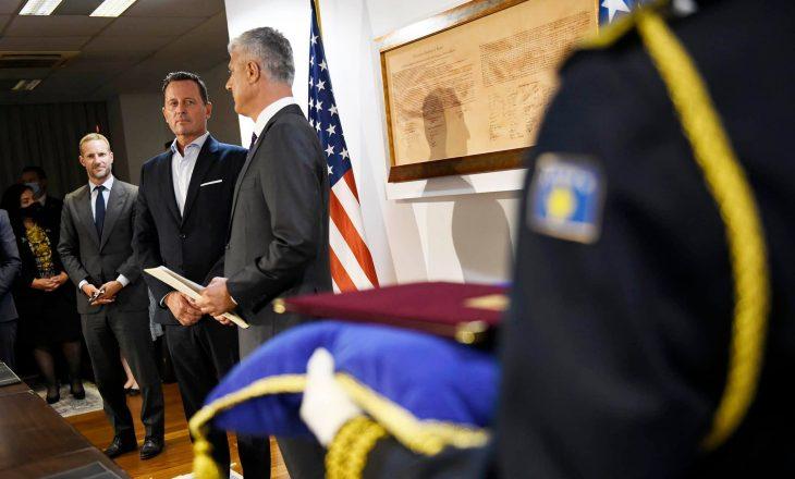 Osmani u ftua për të pritur delegacionin amerikan