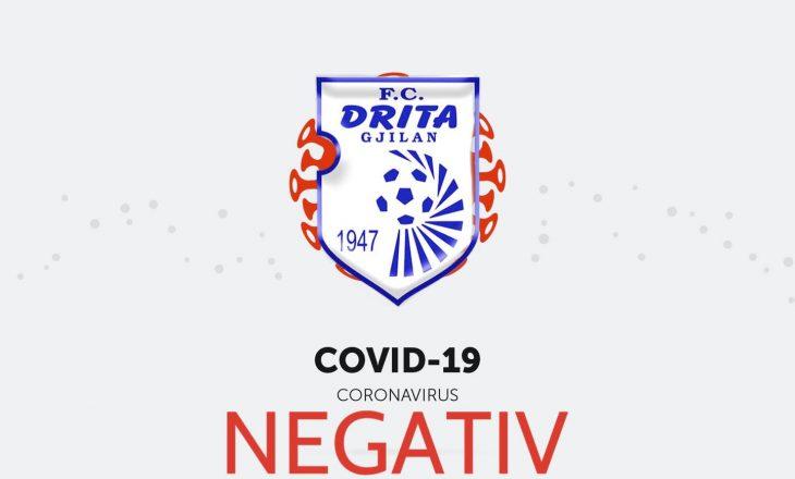Nuk ka të infektuar – Drita gati ndaj Legia