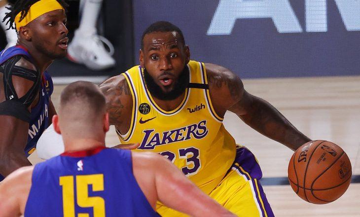 Lakers fitojnë ndeshjen e parë finale ndaj Denver