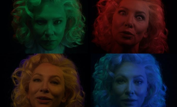Cate Blanchett paraqitet në video instalacionine ri nga Marco Brabilla