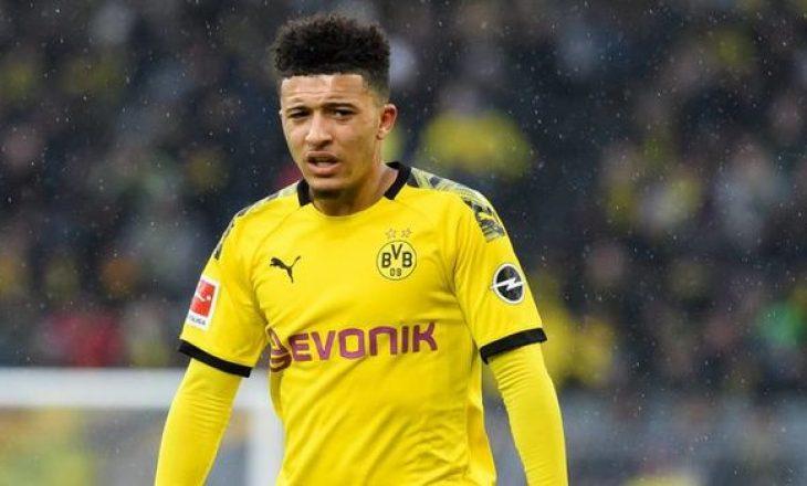Sky Germany: Dortmund e refuzon ofertën e United për Sancho