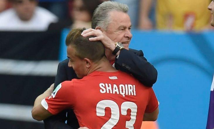 Ottmar Hitzfeld jep këshilla për Shaqirin – I rekomandon largimin nga Liverpool.