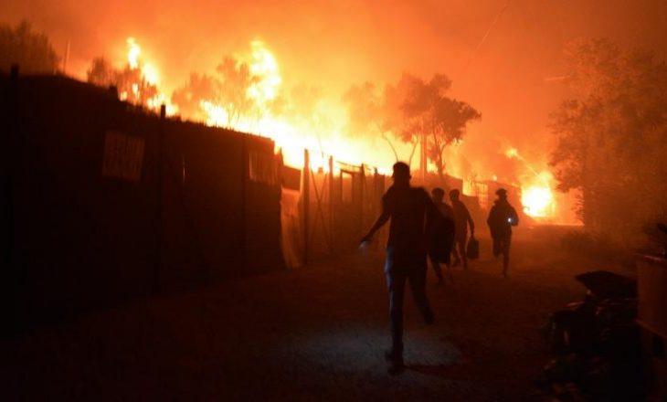 Gjermania do të marrë 1.500 emigrantë nga Greqia, pasi zjarri i madh la mijëra të pastrehë