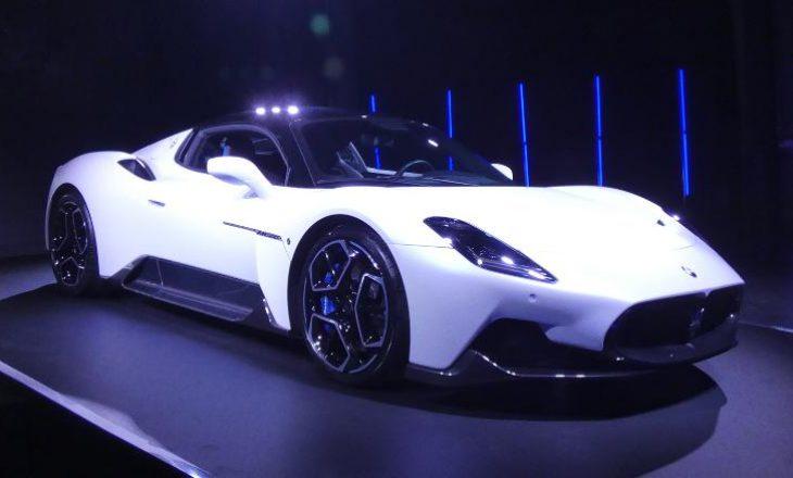 Maserati zbulon super-veturën e tij të parë në 15 vjet