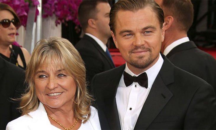 Edhe Leonardo DiCaprio fshihej nga e ëma kur tymoste duhan