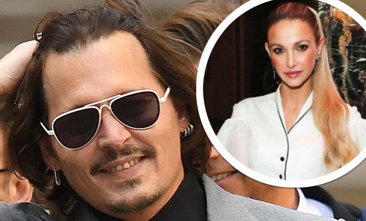 Në mes gjithë betejës ligjore kaotike për divorc – Johnny Depp ka një interes tjetër romantik