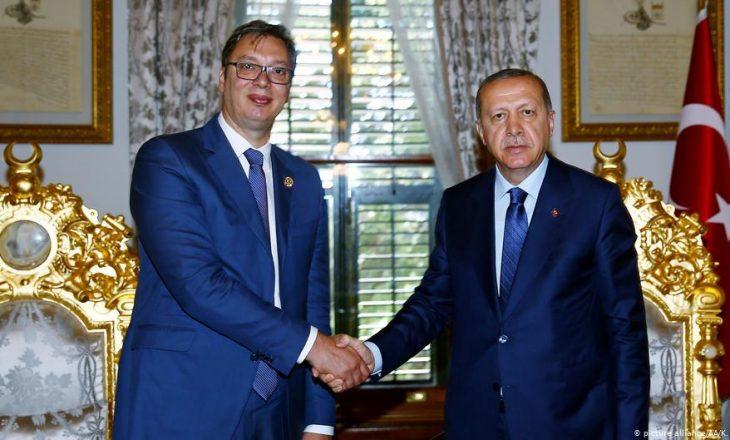 Pas Thaçit edhe Vuçiq takohet me Erdoganin në Stamboll