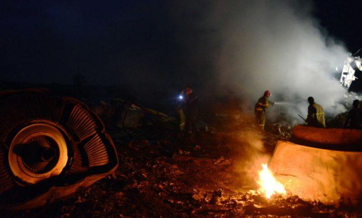 Nga rrëzimi i aeroplanit ushtarak në Ukrainë, së paku 20 të vdekur