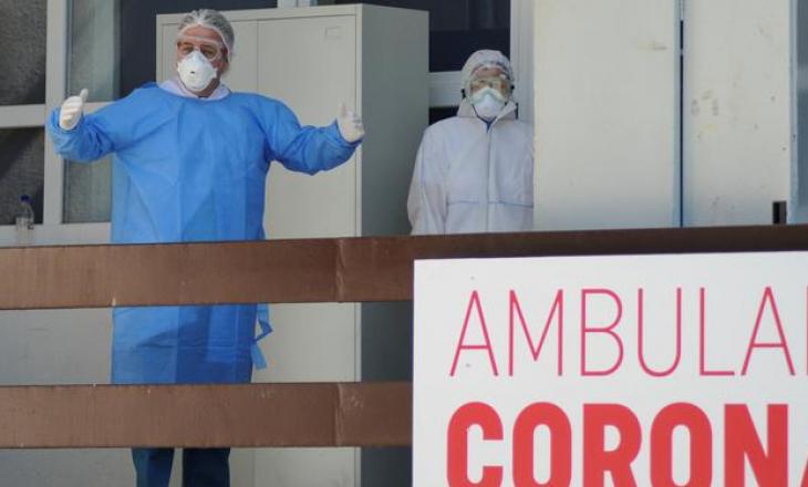 Tri vdekje dhe 47 raste të reja me COVID