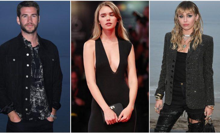 Çka mendon e dashura e re e Liam Hemsworth për të kaluarën e tij me Miley Cyrus