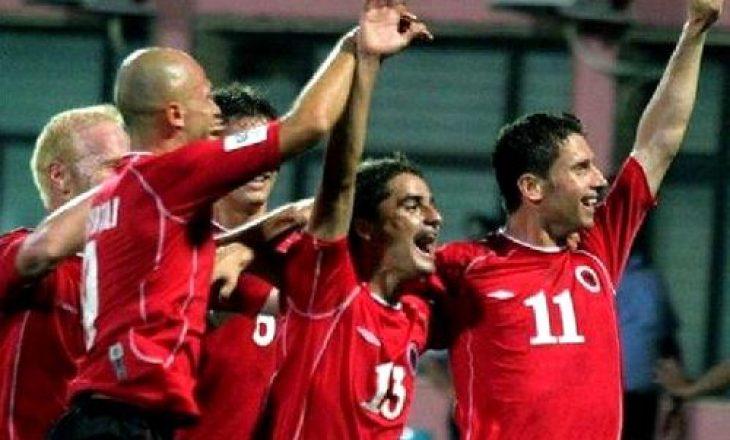 Sot 16 vite më parë, Shqipëria mposhti kampionët evropian