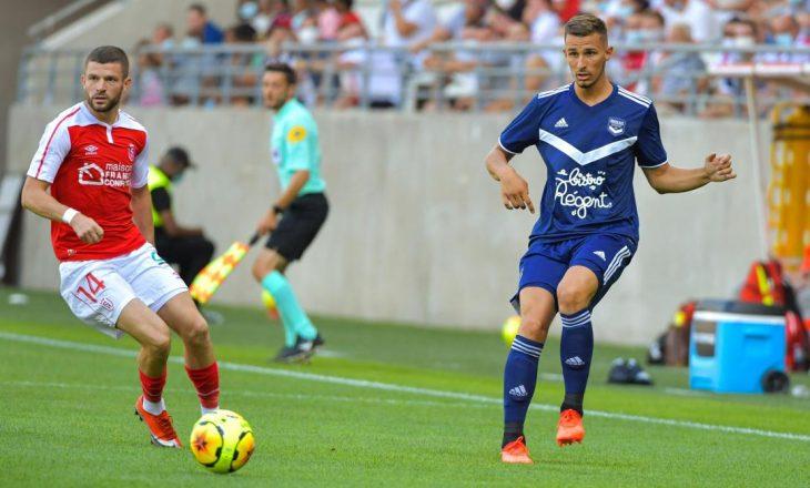 Valon Berisha shënon golin e parë për Reims (VIDEO)