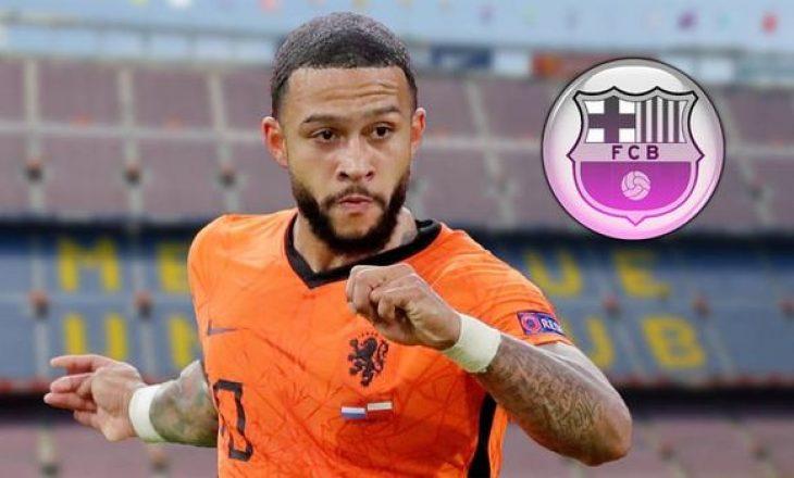 Memphis Depay ka marrëveshje me Barcelonën