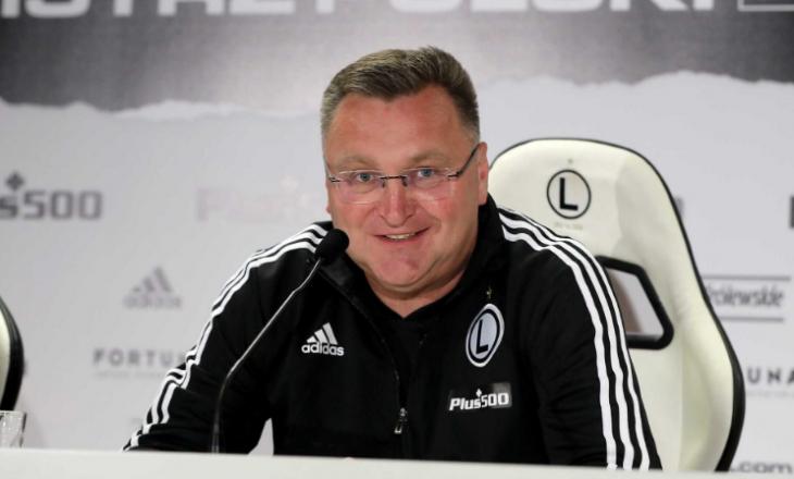 Flet trajneri i Legia pas fitores ndaj Dritës