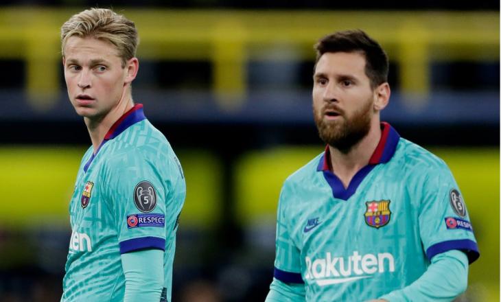 Frenkie de Jong: Jam i lumtur që Messi do të qëndrojë