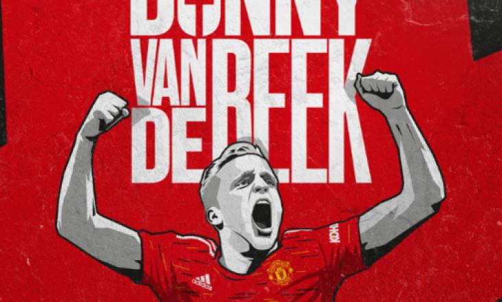 ZYRTARE: Donny ban de Beek lojtar i Manchester United