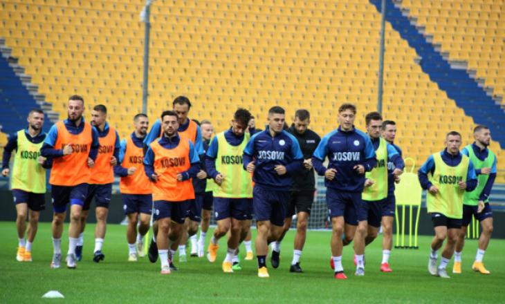 Formacioni mundshëm i Kosovës – Rashica pritet të luaj si sulmues