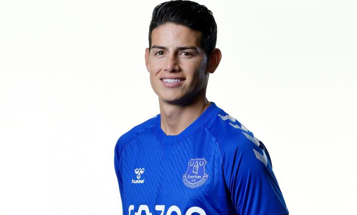Zyrtare: James Rodriguez lojtar i Everton
