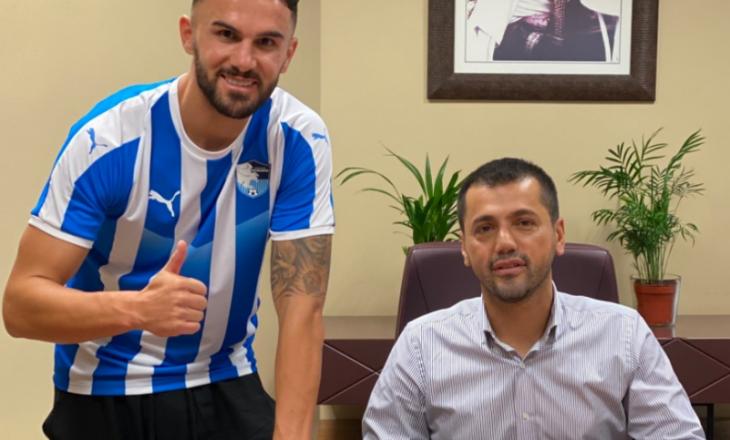 Armando Sadiku prezantohet tek Erzurumspor