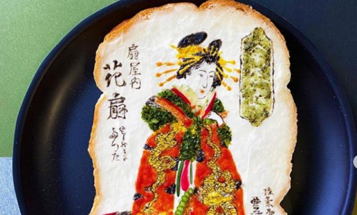 Artistja japoneze që kthen bukën e thekur në art
