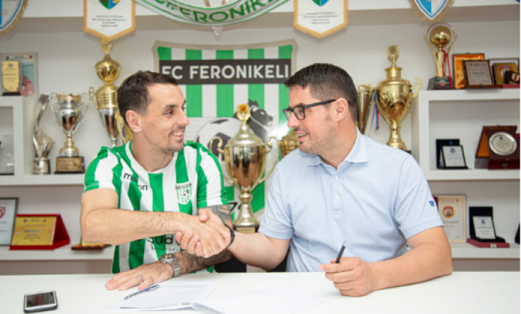 Zyrtare: Viktor Kuka lojtar i Feronikelit