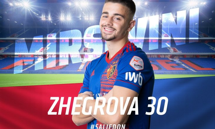 Zyrtare: Edon Zhegrova transferohet tek Basel