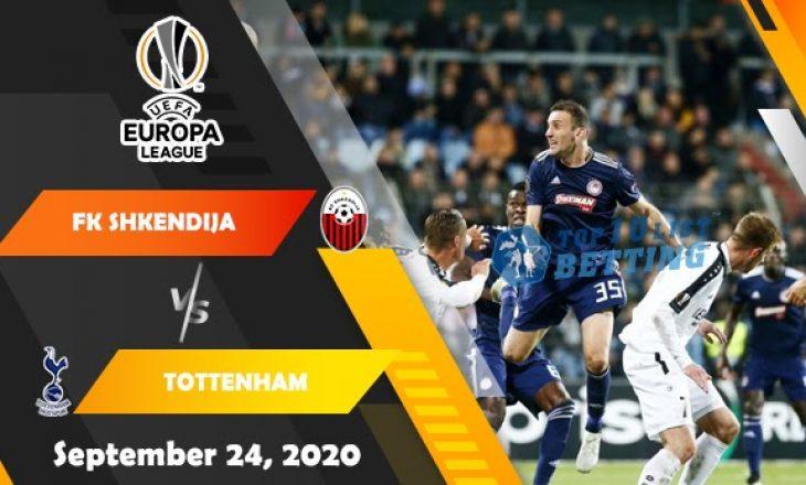 Formacionet e ndeshjes: Shkëndija vs Tottenham Hotspur