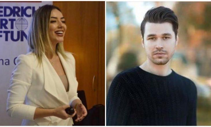 Sekretarja e përgjithshme në Shqipëri ishte modele në videoklipin e Alban Skënderajt – reagon këngëtari
