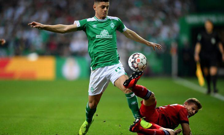 Werder Bremen: Jemi në bisedime me Aston Villa për Rashicën