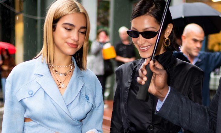 Dua Lipa dhe Bella Hadid gjejnë frymëzim tek kjo epokë