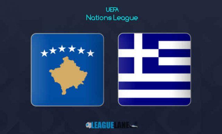Sonte Kosovë vs Greqi – Dardanët me 10 mungesa
