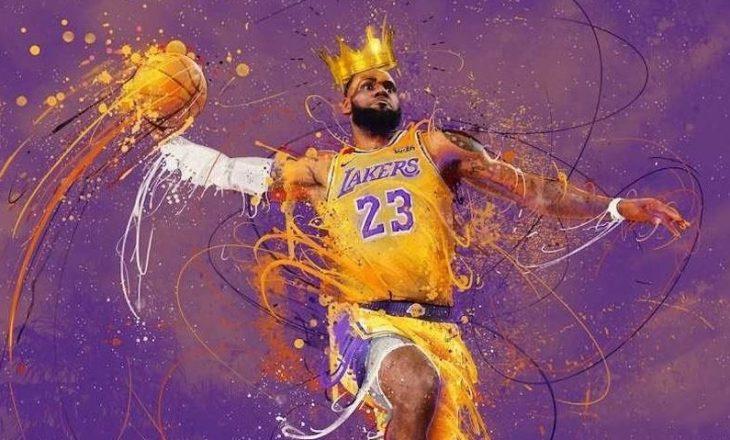 Sipas statistikave, Lebron James, është lojtari më i mirë në histori të basketbollit