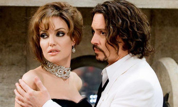 Simpatia më e madhe e Angelina Jolie ishte aktori Johnny Depp
