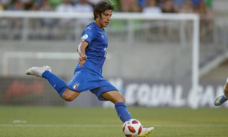 Milan transferon talentin italian