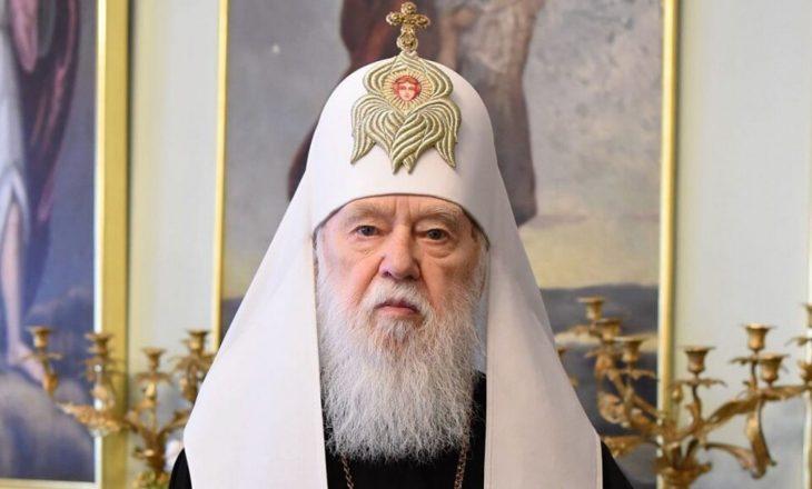 Udhëheqësi i kishës në Ukraine që tha se Covid është ndëshkimi i zotit për martesat mes gjinive të njëjta, ka dalë pozitiv në testin e virusit dhe është hospitalizuar