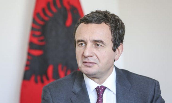 Albin Kurti kundërshton marrëveshjen e Uashingtonit: Serbia mori gjithçka që kërkoi