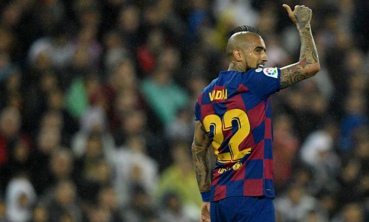 Arturo Vidal ka ndërprerë kontratën me Barcelonën