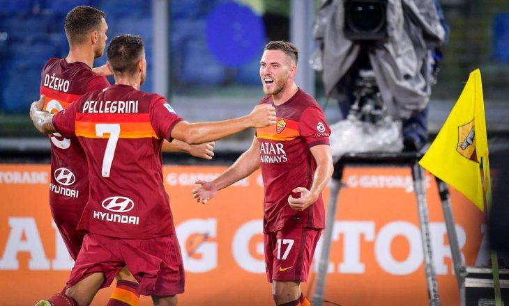 Mbyllet pjesa e parë, Roma në avantazh ndaj Juventus