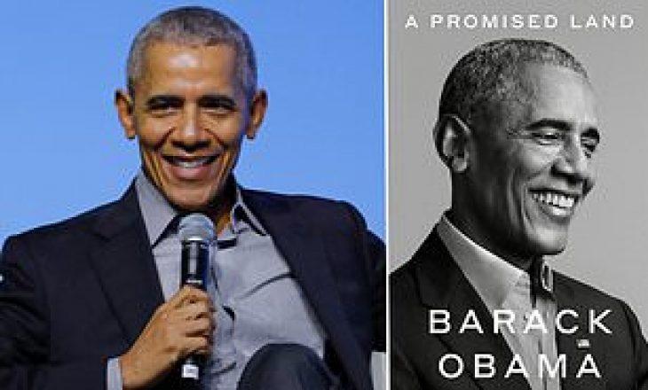 """Barack Obama në nëntor boton librin """"Një Tokë e Premtuar"""""""