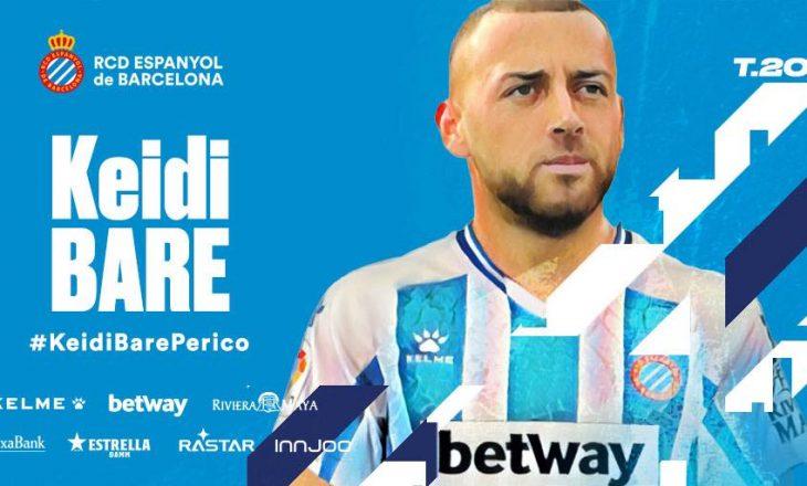 Keidi Bare zyrtarizohet te Espanyol