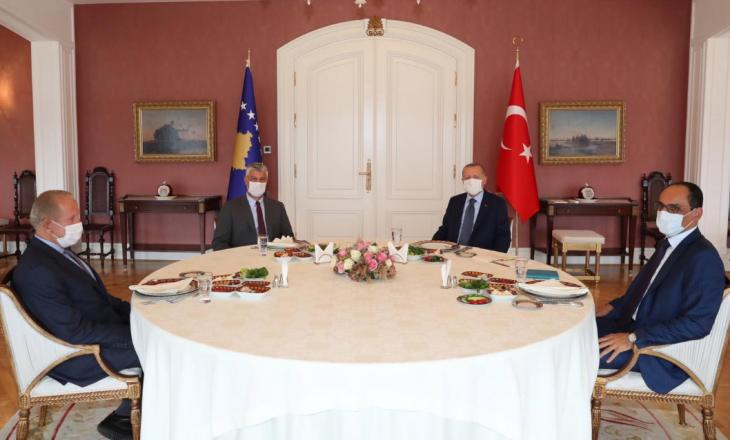 Pacolli në takim me Thaçin dhe Erdoganin: Partneriteti ynë do të jetë më i fuqishëm
