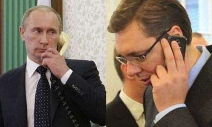 Vuçiq bisedon përmes telefonit me Putinin rreth marrëveshjes së Uashingtonit