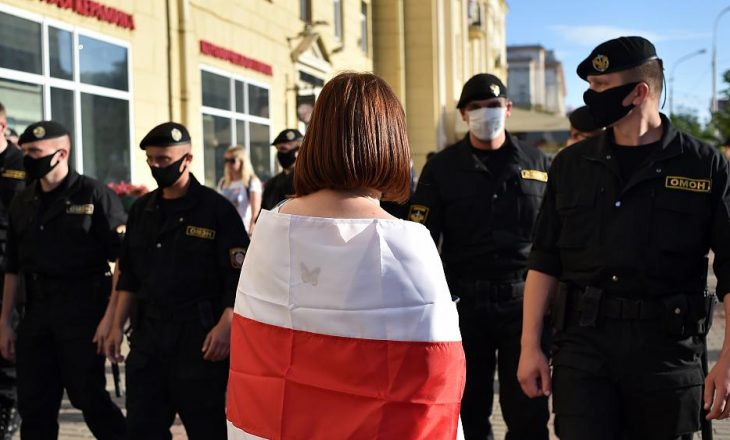 Vazhdojnë protestat kundër presidentit bjellorus, Lukashenkos
