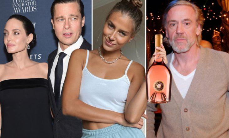 Vera e Brad Pitt shitet në restorantin e burrit të së dashurës së tij të re