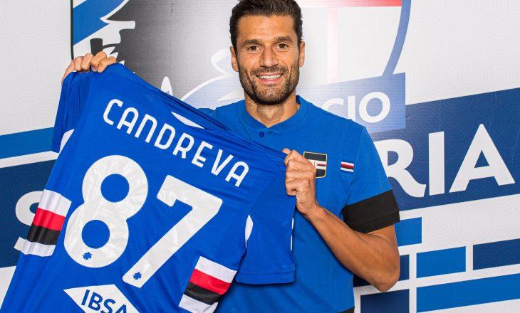 Sampdoria zyrtarizon Candrevan