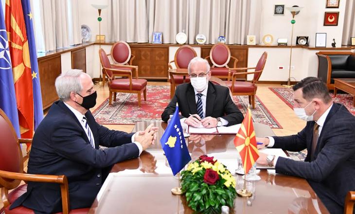 Maqedoni e Veriut: Gjergj Dedaj takon Talat Xhaferin